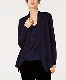 Eileen Fisher Tencel® Open-Front Cardigan
