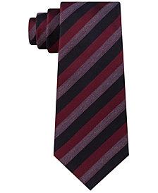 Kenneth Cole Reaction Men's Best of Black Stripe Tie