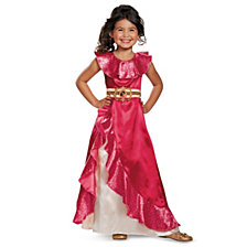 Elena of Avalor Adventure Dress Classic Big Girls Costume