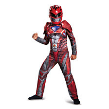 Power Rangers Red Ranger Classic Muscle Big Boys Costume