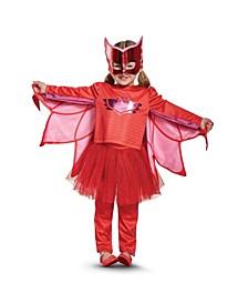 Pj Masks Owlette Prestige Tutu Little and Big Girls Costume