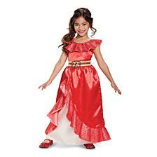 Elena of Avalor Elena Deluxe Adventure Gown Little Girls Costume