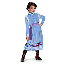 Anna Frozen Adventure Dress Deluxe Big Girls Costume