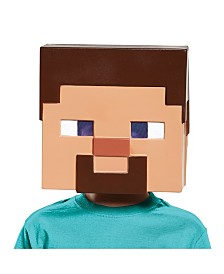 Minecraft Steve Vacuform Big Boys Mask