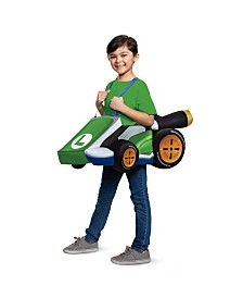 Super Mario Bros. Luigi Kart Little and Big Boys Costume