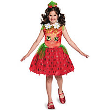 Shopkins Strawberry Kiss Little Girls Costume
