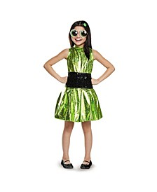 Powerpuff Girls Buttercup Deluxe Little and Big Girls Costume
