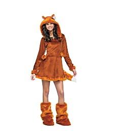 Sweet Fox Big Girls Costume