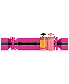 Receive a Complimentary Candy Cracker with any TWO item purchase from the Prada Candy fragrance collection, Online Only