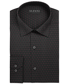 AlfaTech by Alfani Men's Classic/Regular Fit Dress Shirt, Created for Macy's