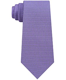 Men's Bold Solid Slim Tie