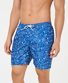 "Trunks Surf & Swim Co. Men's 6 1/4"" Volley Printed Swim Trunks"
