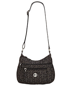 Giani Bernini Circle Signature Lurex Hobo, Created for Macy's