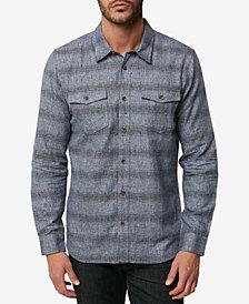 O'Neill Men's Covington Striped Flannel Shirt