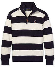 Polo Ralph Lauren Little Boys Striped Cotton Pullover