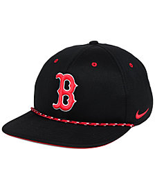 Nike Boston Red Sox String Bill Snapback Cap