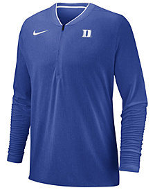 Nike Men's Duke Blue Devils Coaches Quarter-Zip Pullover 2018