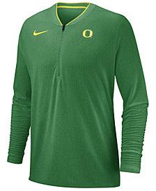 Nike Men's Oregon Ducks Coaches Quarter-Zip Pullover 2018