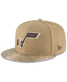 New Era Utah Jazz Snakeskin Sleek 59FIFTY FITTED Cap