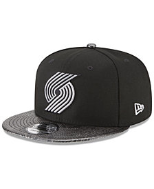 New Era Portland Trail Blazers Snakeskin Sleek 9FIFTY Snapback Cap