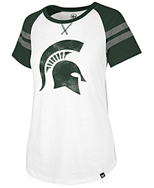 '47 Brand Women's Michigan State Spartans Fly Out Raglan T-Shirt