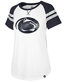'47 Brand Women's Penn State Nittany Lions Fly Out Raglan T-Shirt