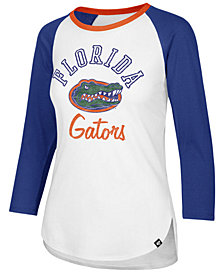 '47 Brand Women's Florida Gators Script Splitter Raglan T-Shirt