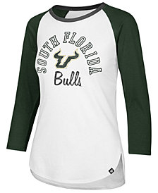 '47 Brand Women's South Florida Bulls Script Splitter Raglan T-Shirt