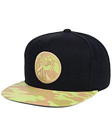 Mitchell & Ness Minnesota Timberwolves Natural Camo Snapback Cap