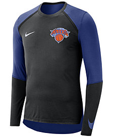 Nike Men's New York Knicks Dry Long Sleeve Top