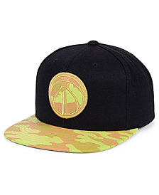Mitchell & Ness Washington Wizards Natural Camo Snapback Cap