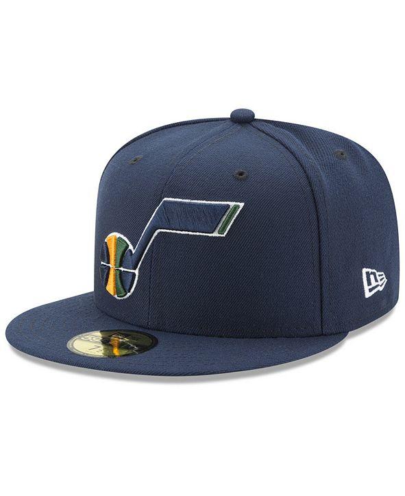 New Era Utah Jazz Basic 59FIFTY Fitted Cap 2018