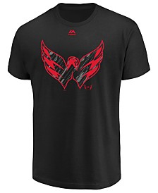 Majestic Men's Washington Capitals Hash Marks T-Shirt