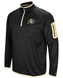 Colosseum Men's Colorado Buffaloes Amnesia Quarter-Zip Pullover