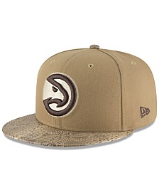 New Era Atlanta Hawks Snakeskin Sleek 59FIFTY FITTED Cap