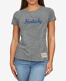 Women's Kentucky Wildcats Tri-Blend T-Shirt