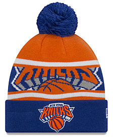 New Era Boys' New York Knicks Jr. Callout Pom Hat