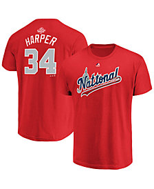 Majestic Men's Bryce Harper Washington Nationals All Star Game Player T-Shirt 2018