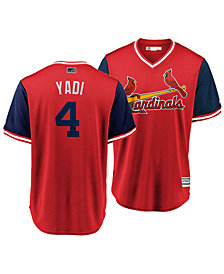 Majestic Men's Jersey Yadier Molina St. Louis Cardinals Players Weekend Replica Cool Base