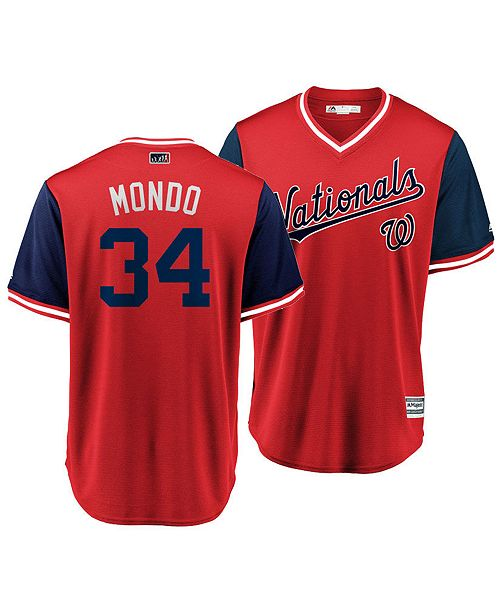 9067d7222 ... Majestic Men s Bryce Harper Washington Nationals Players Weekend  Replica Cool Base Jersey ...