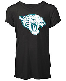 5th & Ocean Jacksonville Jaguars Logo T-Shirt, Girls (4-16)