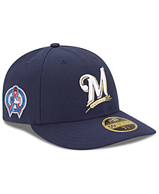 New Era Milwaukee Brewers 9-11 Memorial Low Profile 59FIFTY FITTED Cap