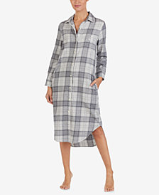 Lauren Ralph Lauren Printed Cotton Sleepshirt