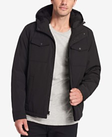 Dockers Men's Two-Pocket Puffer Jacket