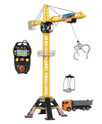 Dickie Toys - Mega Crane Remote Control Set With Truck