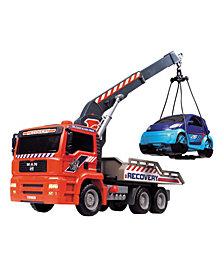 Dickie Toys - 12 Inch Air Pump Crane Truck