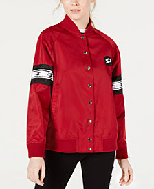 Starter Graphic Logo Bomber Jacket