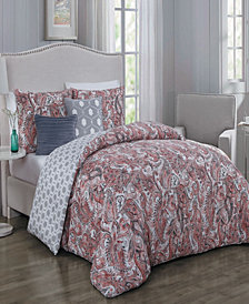 Dominica 5 Pc Queen Comforter Set