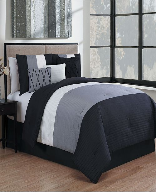 Geneva Home Fashion Manchester 7 Pc King Comforter Set
