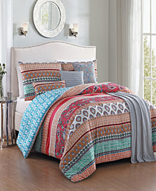Martika 7 Pc Queen Comforter Set
